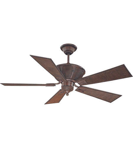 Savoy House Danville Ceiling Fan in Dark Bamboo 52-110-5BA-04 photo
