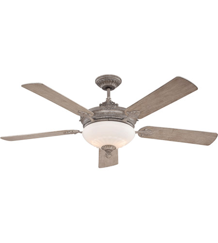 Savoy House 52-15-545-45 Bristol 52 inch Aged Wood Ceiling Fan photo