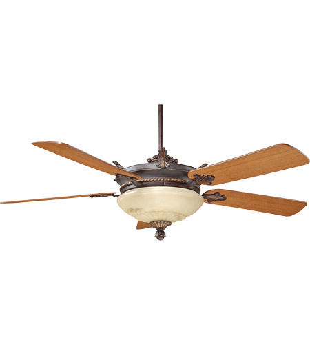 Savoy House Bristol 2 Light Ceiling Fan in Antique Copper 52-15-5TK-16 photo