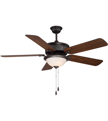 Savoy House 52-170-5RV-13 Ventura 52 inch English Bronze with Walnut/Teak Blades Ceiling Fan photo