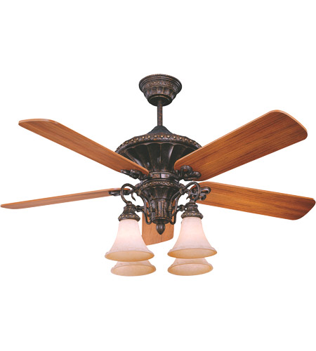 Savoy House Villamoura Ceiling Fan in New Tortoise Shell 52-500-5WA-56