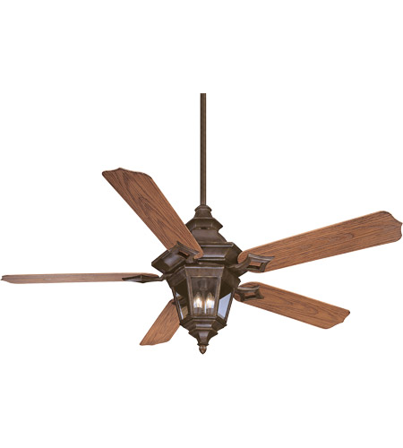 Savoy House Chatsworth 3 Light Ceiling Fan in Walnut Patina 52-515-5O-40 photo