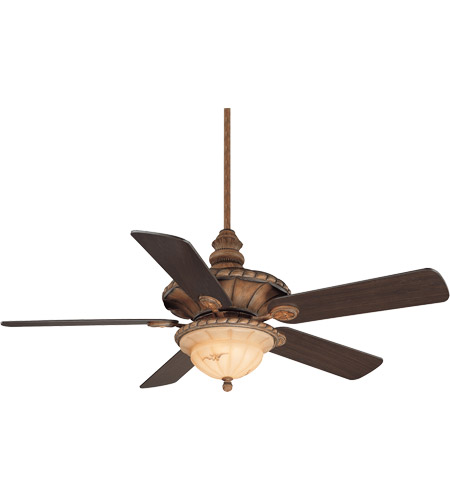 Savoy House Barley Twist 3 Light Ceiling Fan in Cottonwood (Blades sold separately) 52-530-MO-10 photo