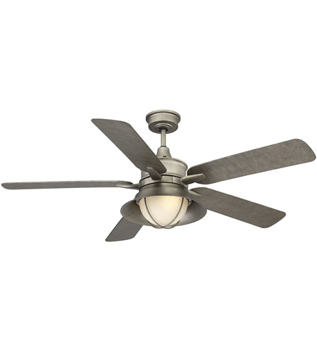 Savoy House 52-625-5AS-242 Hyannis 52 inch Aged Steel Outdoor Ceiling Fan photo