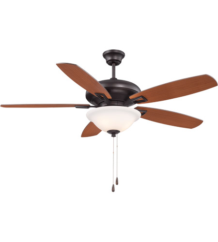 Savoy House 52-831-5RV-13 Mystique 52 inch English Bronze with Walnut/Teak Blades Ceiling Fan photo