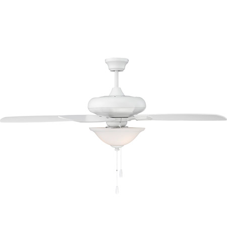 Savoy House 52 831 5wh Wh Mystique 52 Inch White Ceiling Fan