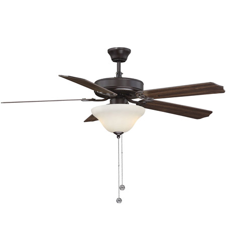 Savoy House 52-ECM-5RV-13 First Value 52 inch English Bronze with Walnut/Teak Blades Ceiling Fan photo