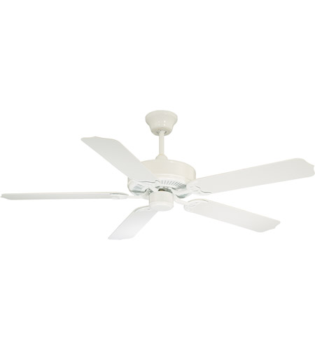 Savoy house 52 eof 5w wh nomad 52 inch white outdoor ceiling fan aloadofball Image collections