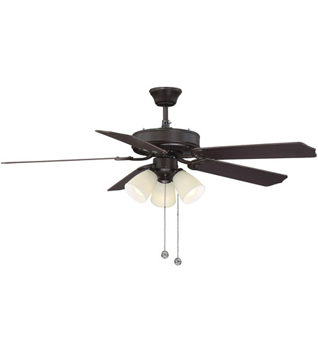 Savoy House First Value 3 Light Ceiling Fan in English Bronze 52-EUP-5RV-13 photo