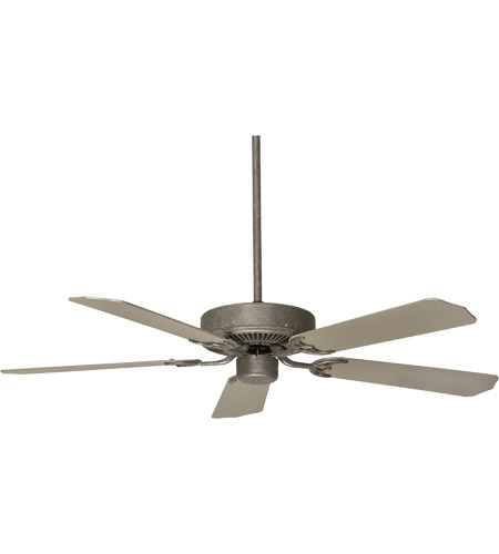 Savoy House Main Street The Builder Select 52in Indoor Ceiling Fan In Texas Bat Silver 52
