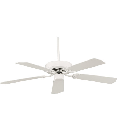 Savoy House Builder Specialty Ceiling Fan in White 52-FAN-5W-WH