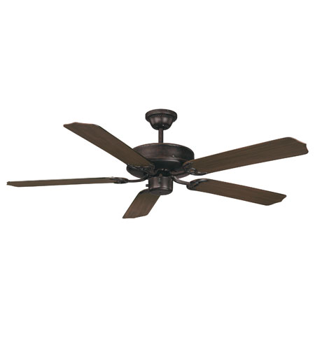 Savoy House Outdoor Living The Crimson 52in Outdoor Ceiling Fan in ...:Savoy House Outdoor Living The Crimson 52in Outdoor Ceiling Fan in English  Bronze 52-PF-5CN-13,Lighting