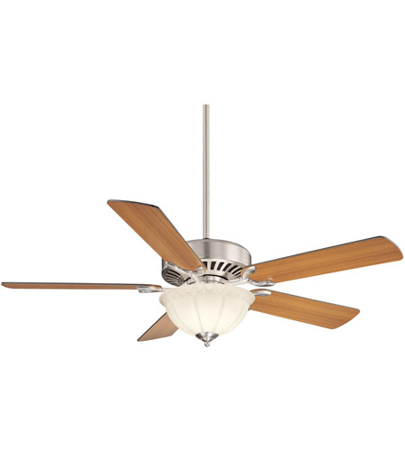 Savoy House Barbour Island 3 Light Ceiling Fan in Satin Nickel 52-SGB-5RV-SN