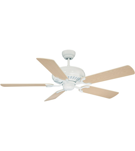 Savoy House 52-SGC-5RV-80 Pine Harbor 52 inch Matte White with White/Weathered Patina Blades Ceiling Fan photo