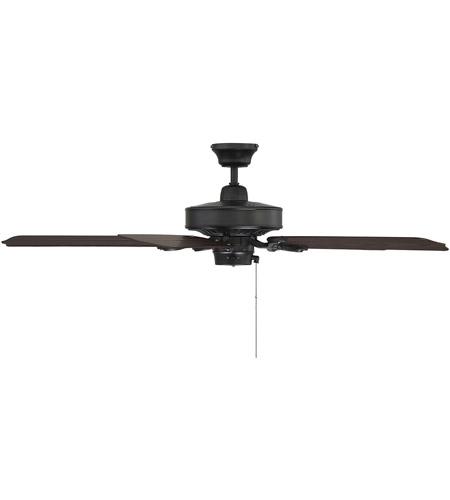Savoy House Lancer Ceiling Fan in Flat Black 52-SGO-5CN-FB