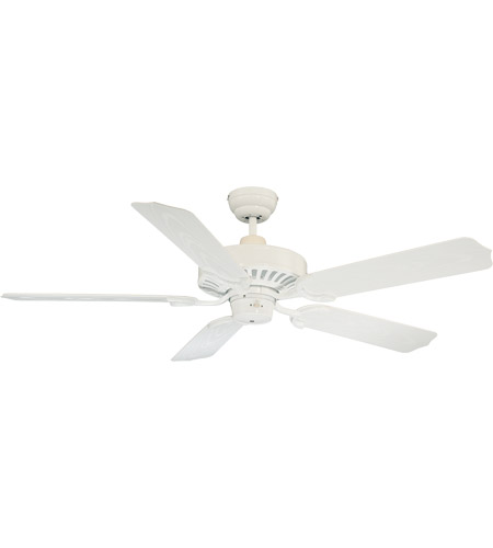 Savoy House Lancer Ceiling Fan in White 52-SGO-5W-WH