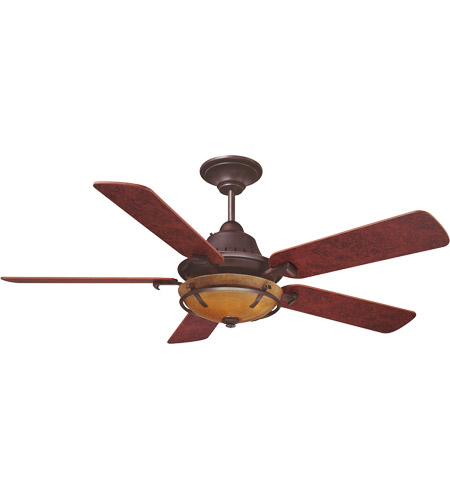 Savoy House Big Canoe 3 Light Ceiling Fan in English Bronze 52P-620-5BC-13 photo