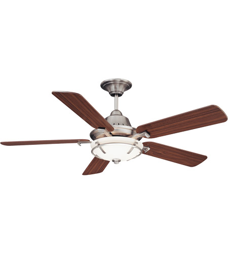 Savoy House Big Canoe 3 Light Ceiling Fan in Satin Nickel 52P-620-5WA-SN photo