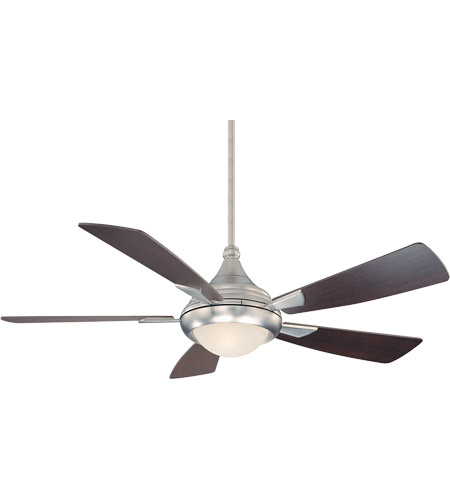 Savoy House Zephyr 1 Light Ceiling Fan in Satin Nickel 54-471-5CN-SN