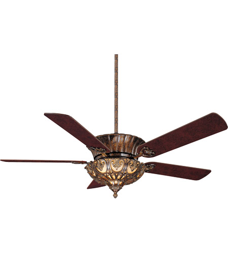 Savoy House Coyaba 3 Light Ceiling Fan in New Tortoise Shell (Blades sold separately) 55-600-MO-56
