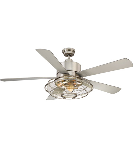 Savoy house 56 578 5sv sn connell 56 inch satin nickel ceiling fan mozeypictures Images