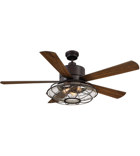 Savoy House 56-578-5WA-13 Connell 56 inch English Bronze with Walnut Blades Ceiling Fan photo