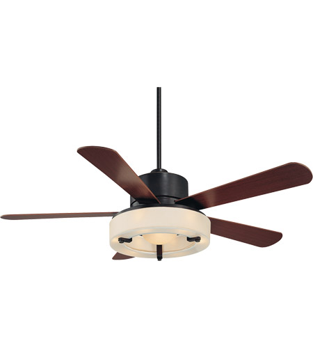 Savoy House Olympic 6 Light Ceiling Fan in English Bronze w/Gold 56-765-5HK-213 photo