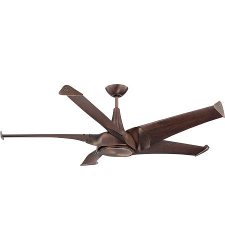 Savoy House Ariel 1 Light Ceiling Fan in Byzantine Bronze 58-818-5WA-35 photo