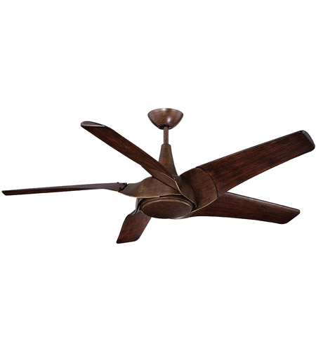 Savoy House Indra 1 Light Ceiling Fan in Walnut 58-819-5WA-37