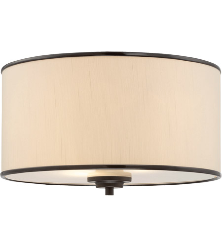 Savoy House Grove 2 Light Flush Mount in English Bronze 6-1500-14-13 photo