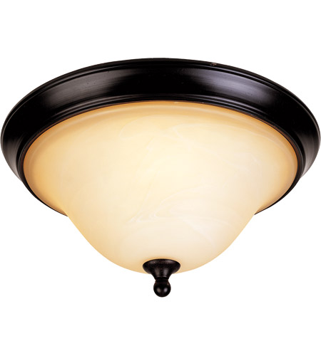 Savoy House Sutton Place 2 Light Flush Mount in English Bronze 6-1706-13-13