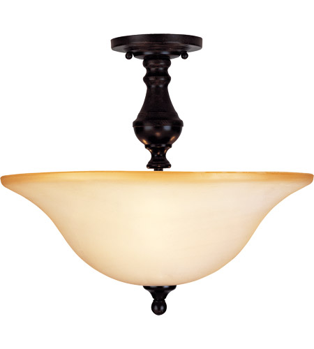 Savoy House Sutton Place 3 Light Semi-Flush in English Bronze 6-1707-3-13