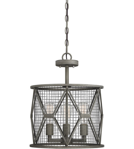 Savoy House 6-2163-3-119 Arbor 3 Light 15 inch Smoke Semi-Flush Mount Ceiling Light, Convertible photo