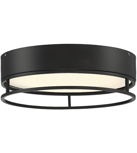 new arrivals 79103 0e620 Creswell LED 15 inch English Bronze Flush Mount Ceiling Light, Oval