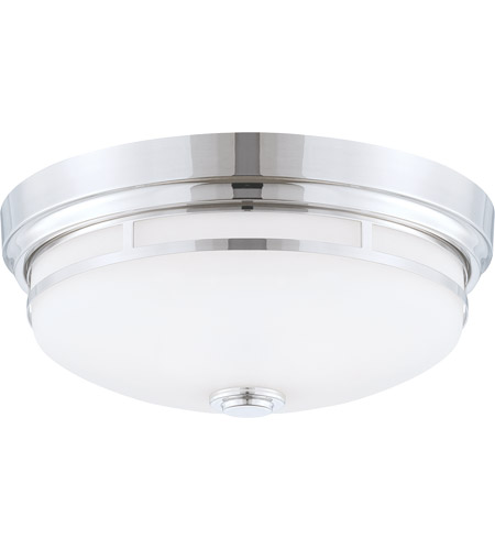 Savoy House Signature 2 Light Flush Mount in Polished Nickel 6-3340-13-109
