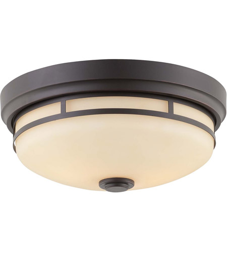 Savoy House Signature 2 Light Flush Mount in Slate 6-3340-13-25
