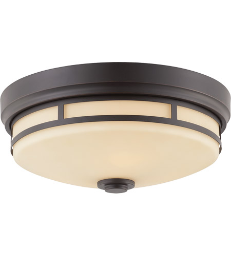 Savoy House 6-3340-15-25 Signature 3 Light 15 inch Slate Flush Mount Ceiling Light photo