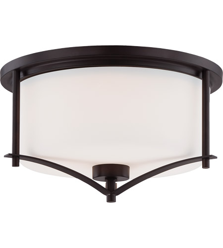 Savoy House 6-335-15-13 Colton 2 Light 15 inch English Bronze Flush Mount Ceiling Light photo