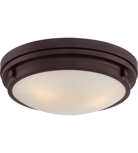 Savoy House 6-3350-16-13 Lucerne 3 Light 15 inch English Bronze Flush Mount Ceiling Light photo