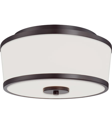 Savoy House 6-4384-13-13 Hagen 2 Light 13 inch English Bronze Flush Mount Ceiling Light photo