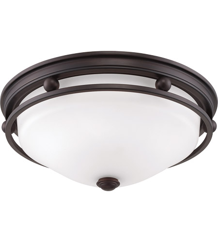 Savoy House Signature 2 Light Flush Mount in English Bronze 6-5450-13-13