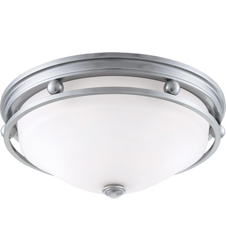 Savoy House Signature 2 Light Flush Mount in Brushed Pewter 6-5450-13-187 photo