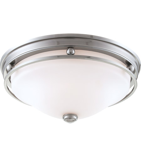 Savoy House Signature 3 Light Flush Mount in Brushed Pewter 6-5450-16-187 photo