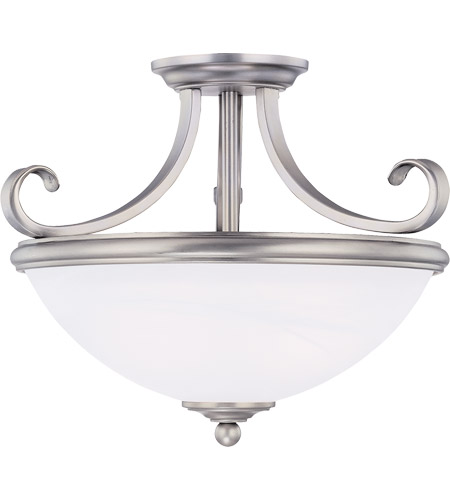 Savoy House 6-5789-2-69 Willoughby 2 Light 15 inch Pewter Semi-Flush Mount Ceiling Light photo