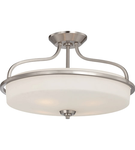 Savoy House 6-6225-4-SN Charlton 4 Light 21 inch Satin Nickel Semi-Flush Mount Ceiling Light photo