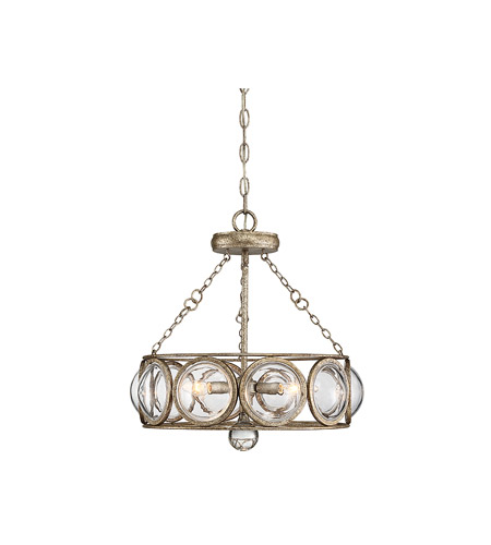 Savoy House 6-6702-3-114 Warwick 3 Light 18 inch Brittannia Gold Semi-Flush Mount Ceiling Light, Convertible photo