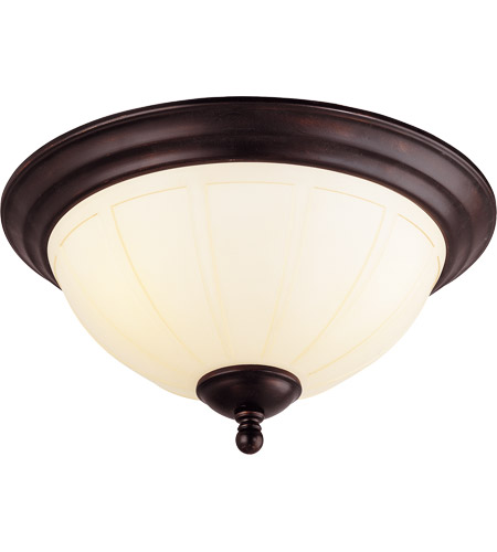 Savoy House Vanguard 3 Light Flush Mount in English Bronze 6-6905-15-13 photo