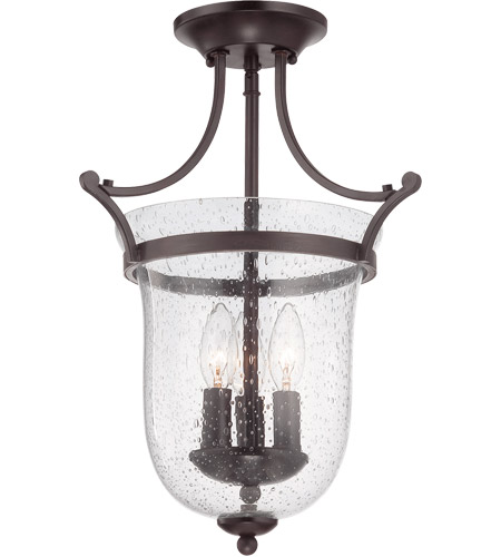 Savoy House Trudy 3 Light Semi-Flush in English Bronze 6-7133-3-13