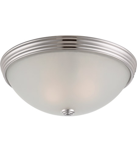 Savoy House Signature 2 Light Flush Mount in Polished Nickel 6-780-13-109
