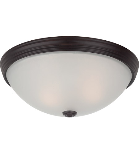 Savoy House Signature 2 Light Flush Mount in English Bronze 6-780-13-13 photo